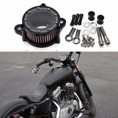 Air Cleaner Intake Filter System For Harley Sportster XL 883 1200 04-15 2004-UP
