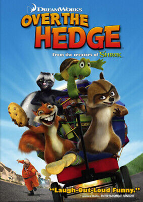 Over the Hedge DVD (2006) Tim Johnson cert U Incredible Value and Free Shipping!