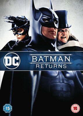 Batman Returns DVD (1999) Michael Keaton, Burton (DIR) cert 15 Amazing Value