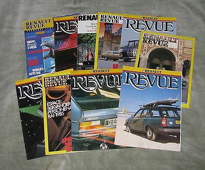 A Collection Of Renault Revue Magazines (Dutch)