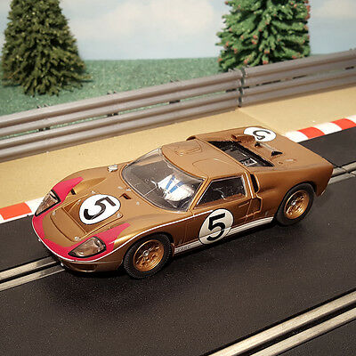 Scalextric 1:32 Car - C2465 Le Mans 1966 Blue Ford GT40 #5 *LIGHTS*