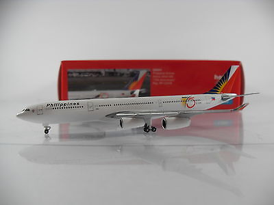 """Herpa Wings 1:500 Philippine Airlines Airbus A340-300 """"75th Anniversary"""" 529341"""