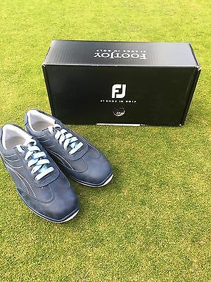 Footjoy Ladies LoPro Casual Spikeless Golf Shoes Size 4.5 Midnight