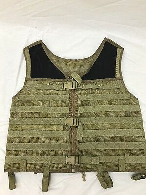 Eagle Industries TAC V 1 MOLLE Vest Khaki Old School Trim Tab  SEALs Large