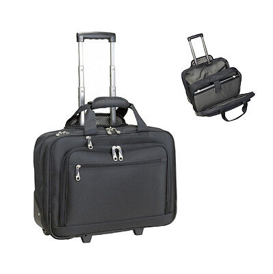 Business-Trolley Polyester, schwarz excl. Marke EuroStyle