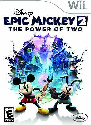 Disney Epic Mickey 2: The Power of Two - Nintendo Wii NEW AND SEALED