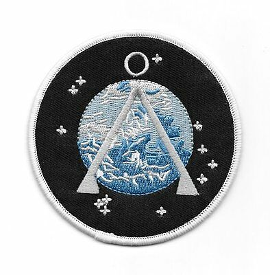Stargate SG-1 TV Series Project Earth Logo Embroidered Patch, NEW UNUSED