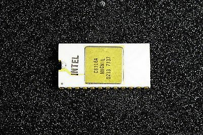 Intel C8316A Vintage ROM Ceramic Gold 7736 DC Malaysia