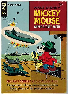Mickey Mouse #108 1966 Gold Key Silver Age Cool!