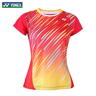 2016 Outdoor sports Women's Tops tennis/badminton Clothes Only T shirts 1021