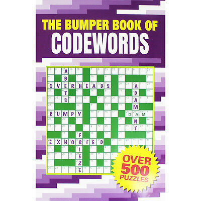 The Bumper Book of Codewords (Paperback), Toys & Games, Brand New