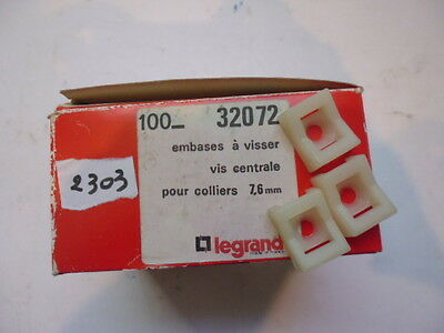 32072 legrand embasse à visser screw base lot: 100x