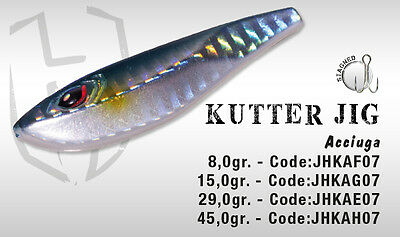 Artificiale Kutter Jig 29 Gr Acciuga Herakles Colmic Lure Metal Spinning Mare