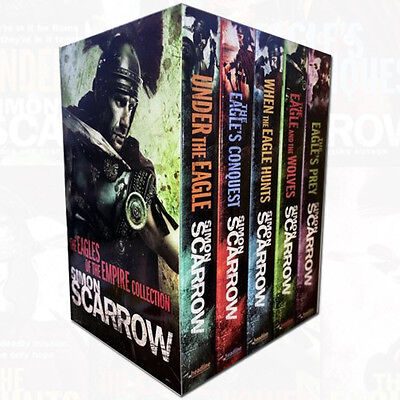 Simon Scarrow Eagles of the Empire collection 5 Books set Under the Eagle PACK