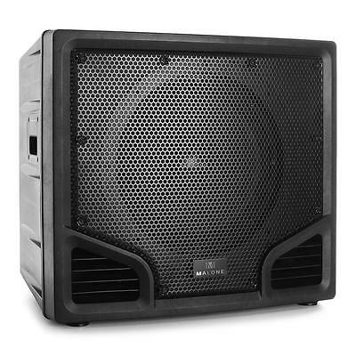 "Passiver PA-Subwoofer mit 38cm (15"") Tieftöner,300W RMS Power & ABS Chassis"