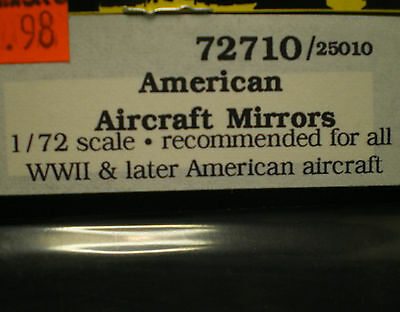 True Details American aircraft mirrors 1:72 scale for all WWII & later aircraft