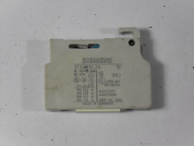 Furnas Electric Co 3TX4-010-2A Aux Contact Block ! WOW !
