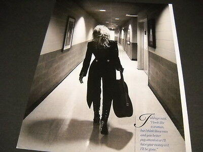 DOLLY PARTON walking down corridor as seen from back 2014 PROMO POSTER AD