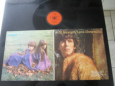 "Al Stewart ""love Chronicles"" 1969 Uk Stereo Lp Jimmy Page"