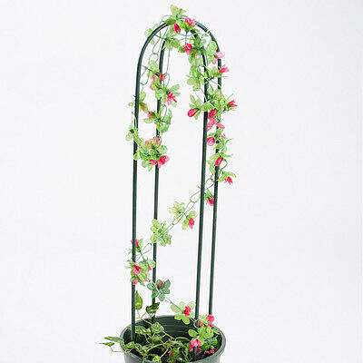 New Plant Support U Shaped Green Vines Climbing Holder Flower Growing Stand Rack