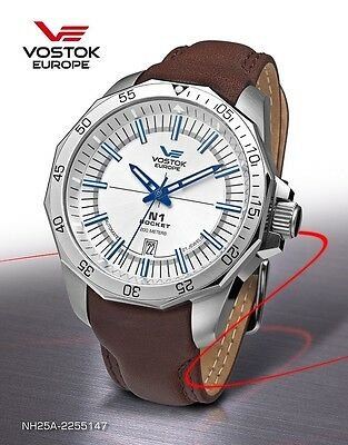 Vostok Europe Rocket N1 Automatic NH35A-2253147 NEW • EUR 270,96