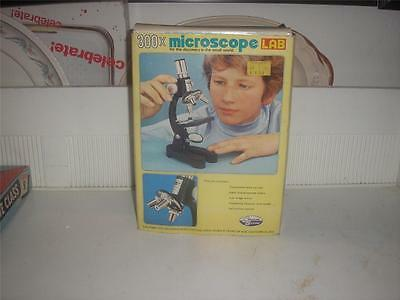 Vintage Creative Science 300 Power Microscope Lab<<Nib(With Outer Box As Well)<<