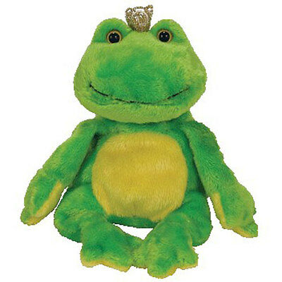 TY Beanie Baby - CHARM the Frog - MWMTs Stuffed Animal Toy