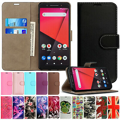 PU Leather Wallet Flip Case Cover For Various Vodafone Vodaphone Mobiles+Stylus