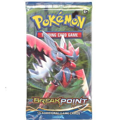 Pokemon Cards - XY BREAKpoint - Booster Pack (10 cards) - New Factory Sealed