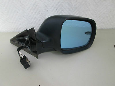 Exterior mirror right electric Audi A4 8D2 B5 Year 96 black RS0225402