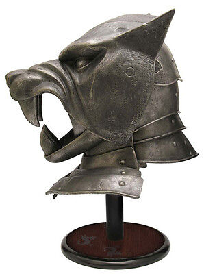 Game of Thrones Replica 1/1 The Hound´s Helm Valyrian Steel Helmets amp masks