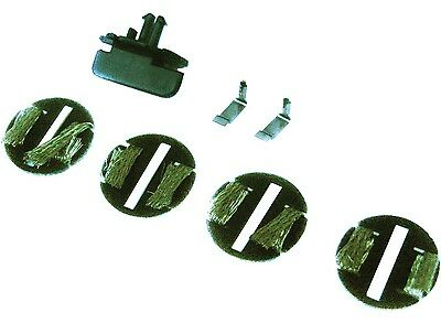 New Genuine Scalextric C8312 Eyelet Guide Blade Disc Style Pickups Braids 4 Pack
