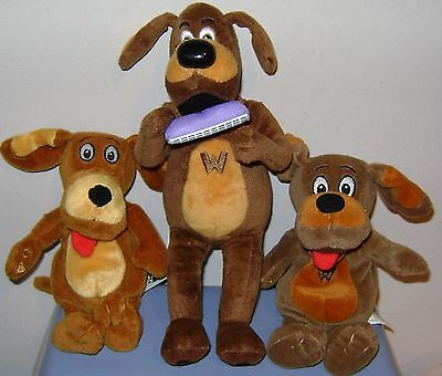 Wiggles Wags The Dog plush Lot of 3