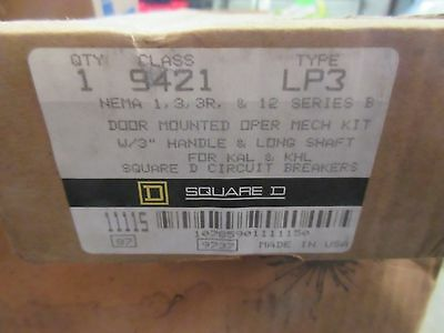 *NEW* Square D 9421LP3 Circuit Breaker Operating Mechanism *60 DAY WARRANTY*