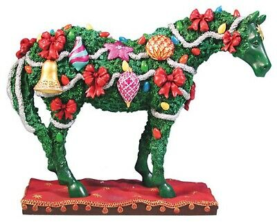 Trail of Painted Ponies DECK THE HALLS FIGURINE Retired, New in Box, 1st Edition
