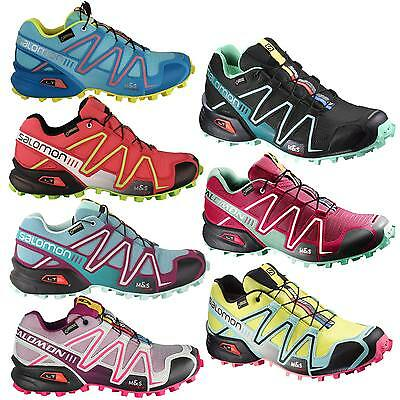 Salomon Speedcross 3 GTX Donna Scarpe Da Corsa Outdoor - impermeabile GoreTex