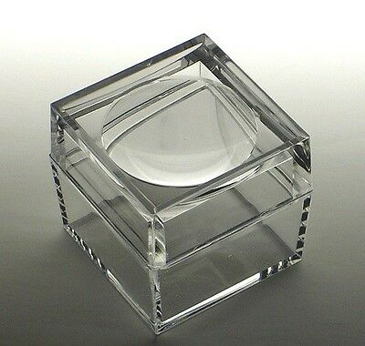 Acrylic Box with 3X Magnifier Cover Bug Box Set of 5