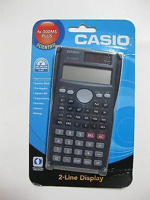 casio fx 300ms plus scientific 2 line display factory sealed rh picclick com Casio FX 300Ms Manual Casio FX 300Ms Plus