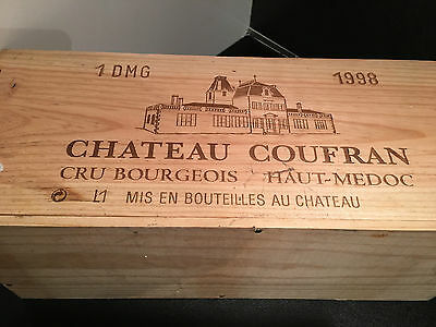 Chateau Coufran **1998** Bouble Mag   3L