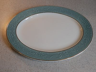 Taylor Smith Taylor China Shadows Tst101 Oval Serving Platter 12 1/8""