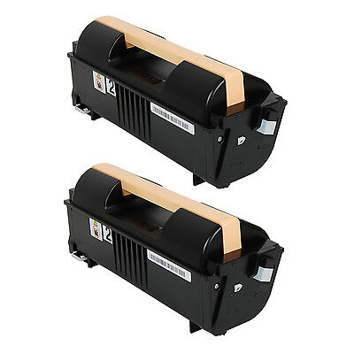 2 Xerox Phaser 4622DT 4622DN Black High Yield Toner Cartridge 106R01535 106R1535