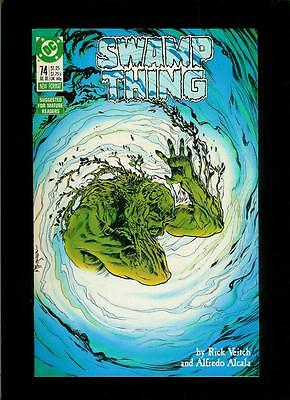 Swamp Thing # 74 (DC, 1988, VF) Combined Shipping!