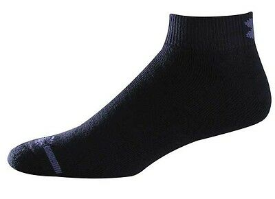 Under Armour UA3362 Men's Black Charged Cotton Lo-Cut Sock (6 Pairs)