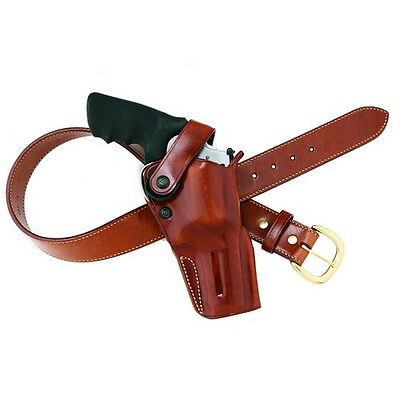 Galco DAO194 DAO Belt Holster Tan Leather RH for Ruger Redhawk