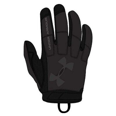 Under Armour 1292876001SM Men's Black Tactical Service Glove Small