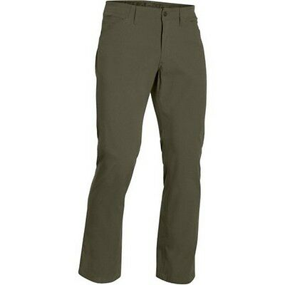 Under Armour 1262480 Men's OD Green Storm Covert Loose Pants - Size 38 x 32