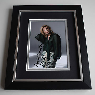 Emilia Fox SIGNED 10X8 FRAMED Photo Autograph Display Silent Witness AFTAL & COA