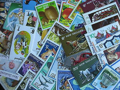 NEW ZEALAND MNH scrap pile 42 different, some short sets, still a nice group!