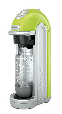SodaStream Power Home Fizzy Sparkling Water Drinks Maker green limited edition