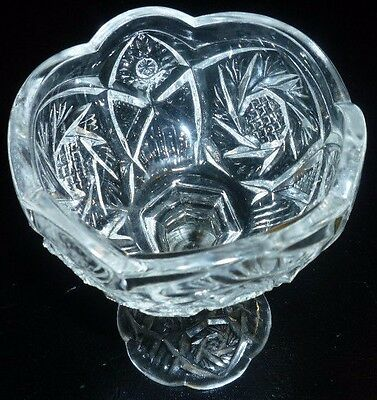 Beautiful Pressed Candy Bowl Grandma House Lovely Glass